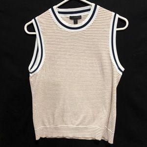 JCrew sleeveless sweater